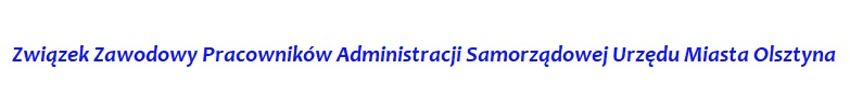 Związek Zawodowy Pracowników Administracji Samorządowej Urzędu Miasta Olsztyna